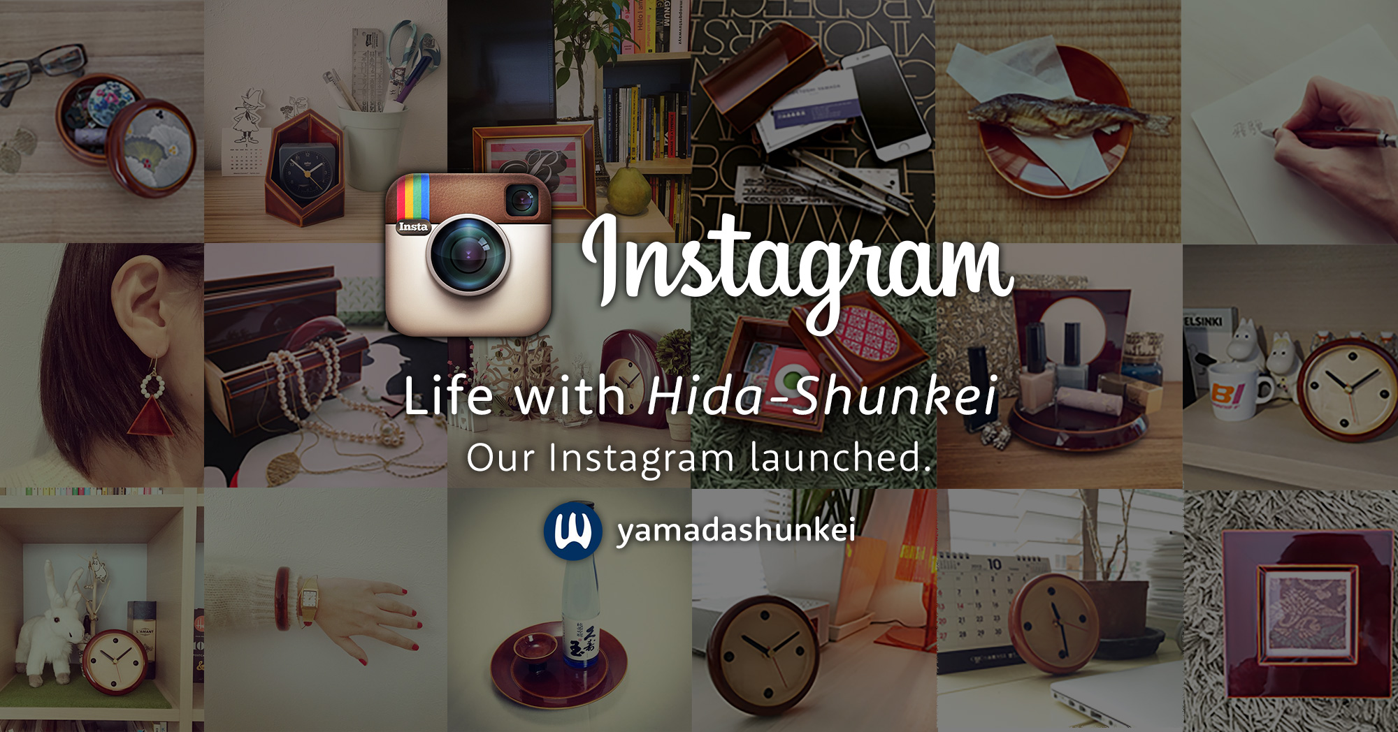 Life with Hida-Shunkei Our Instagram (@yamadashunkei) launched.